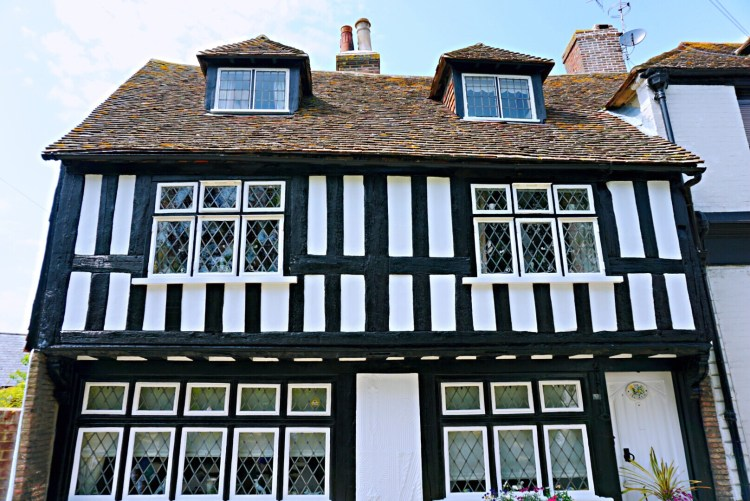 Half-timbered house in Rye - Rye East Sussex