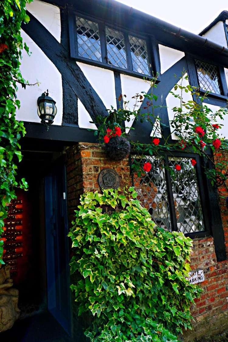 Flowery front doors - Rye East Sussex