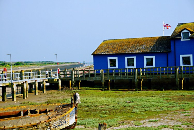 Rye Harbour, blue house - Rye East Sussex