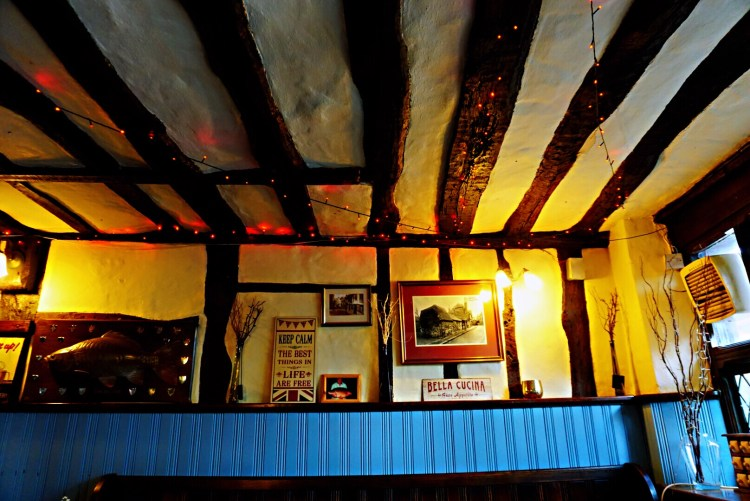 Inside the Old Bell pub - Rye East Sussex