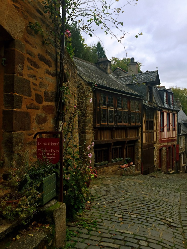 Street of Dinan - Guide to the best tourist attractions, places in Brittany