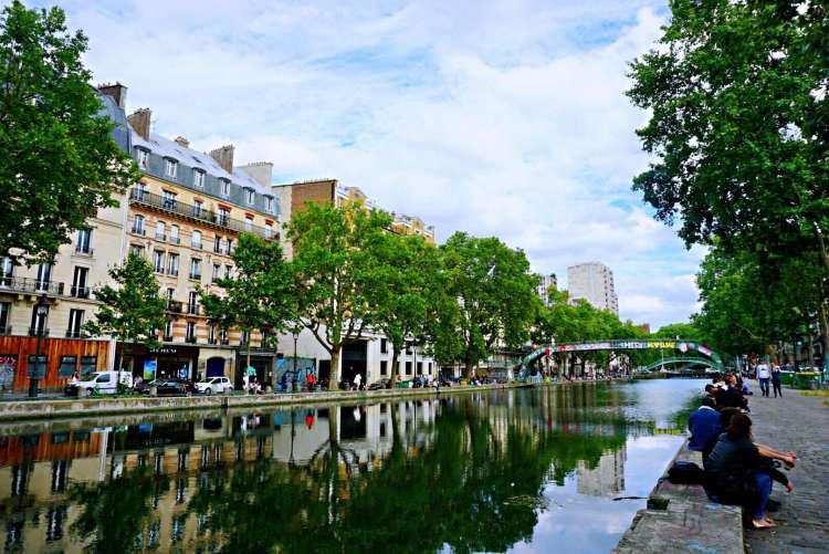 A stroll along the Canal Saint Martin & Bassin de la Villette