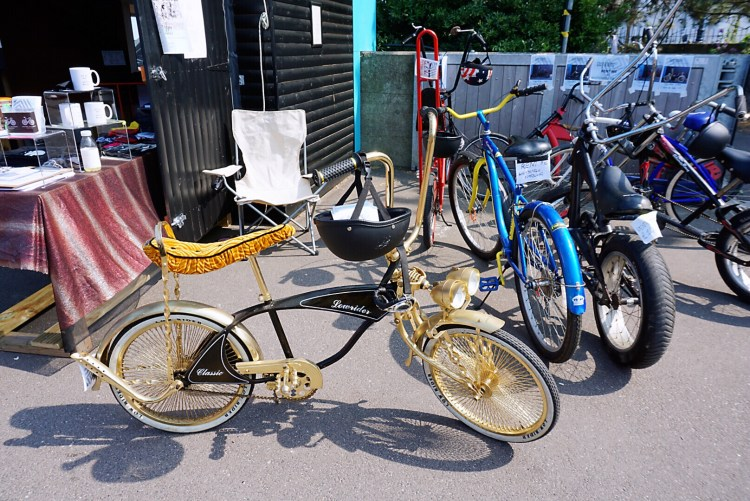 Vintage bikes - Whitstable day trip seaside town things to do