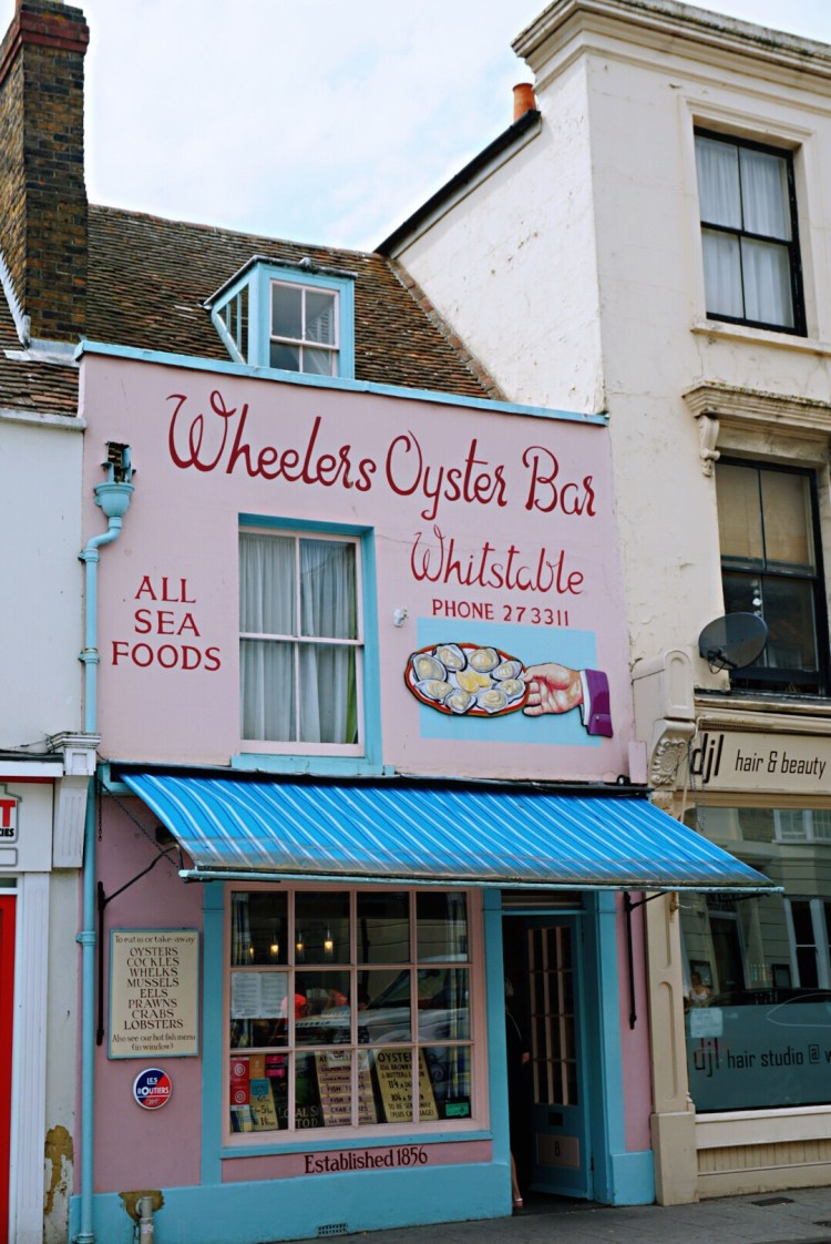 Wheelers Oyster Bar - Whitstable day trip seaside town things to do