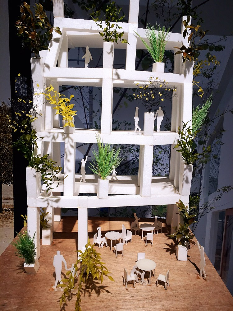 Sou Fujimoto's design - Japan House London