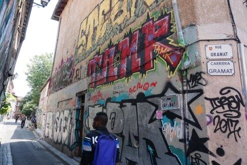 Graffiti street - How to spend 24 hours in Toulouse