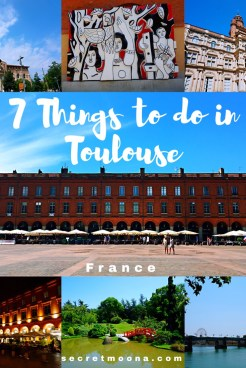 7 Things to do in Toulouse, France. Blue, pink and violet: these are Toulouse's colours. From the banks of the river Garonne to the pink coloured buildings in the old town and the Capitole square, discover the things to do in Toulouse and especially the 7 things you shouldn't miss out when you visit the Pink City.
