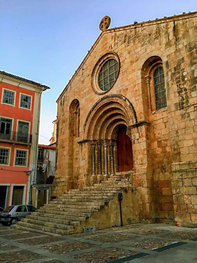 Church in Coimbra - One day in Coimbra