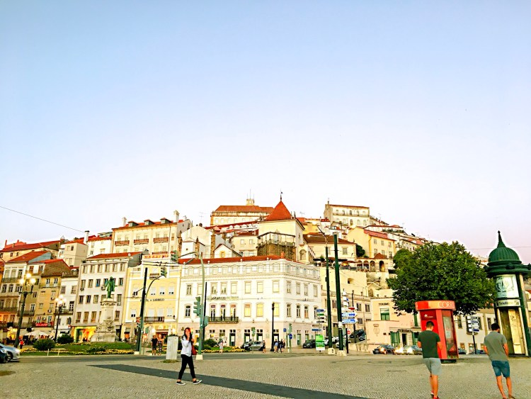 View of the city of Coimbra - On day in Coimbra