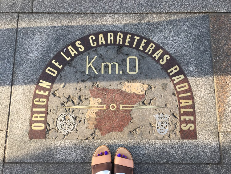 Kilometre O in Puerta del Sol- Weekend breaks in Madrid