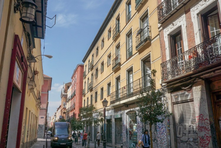A street in Madrid - Weekend breaks in Madrid