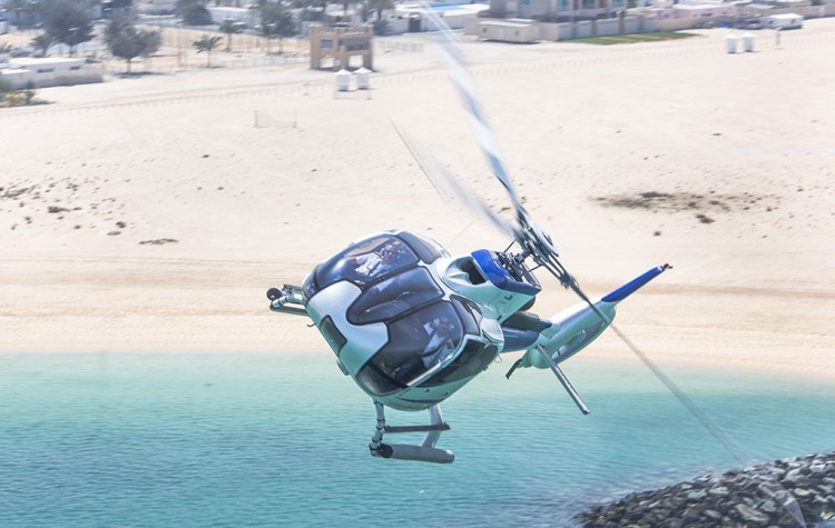 Helicopter tour Dubai - One day in Dubai, things to do