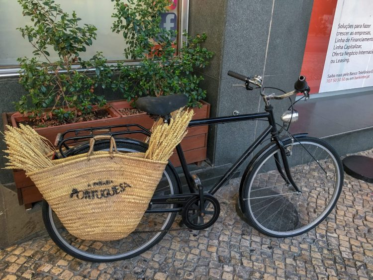 Cute bike in Lisbon - 3 days in Lisbon
