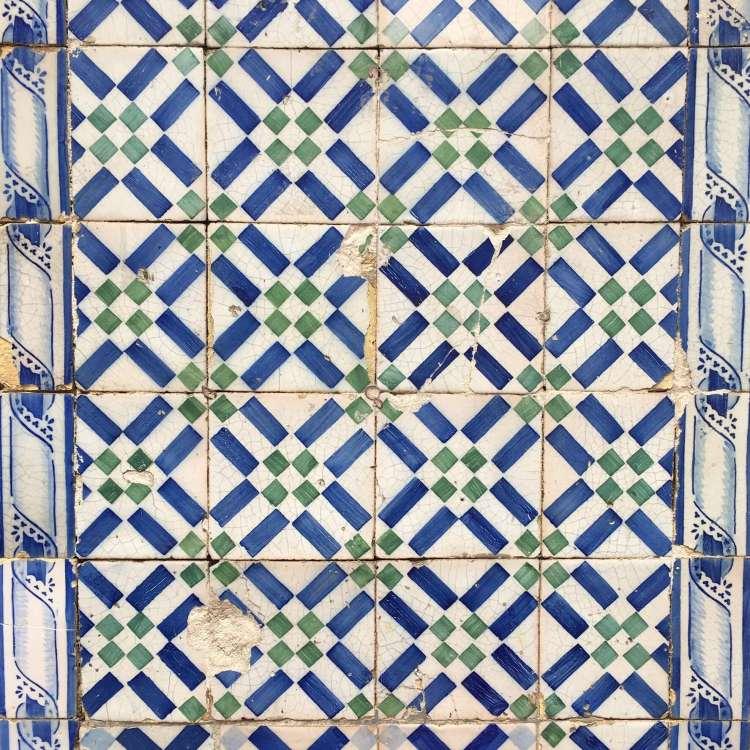 Lisbon azulejos - 3 day in Lisbon