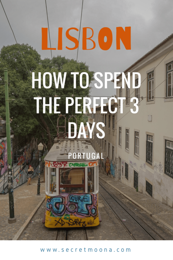 How to spend the perfect 3 days in Lisbon - This Lisbon city trip guide helps you to perfectly fill your days when you're in Lisbon.