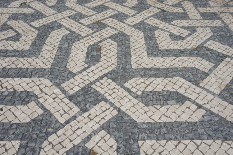 ntricate design on Lisbon pavement - 3 day in Lisbon
