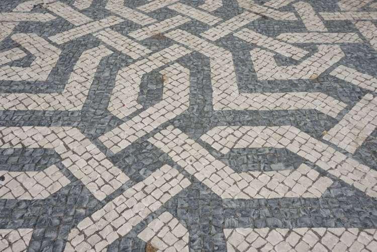 ntricate design on Lisbon pavement - 3 day in Lisbon