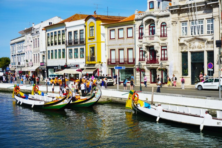 Main square in Aveiro - One week in Portugal