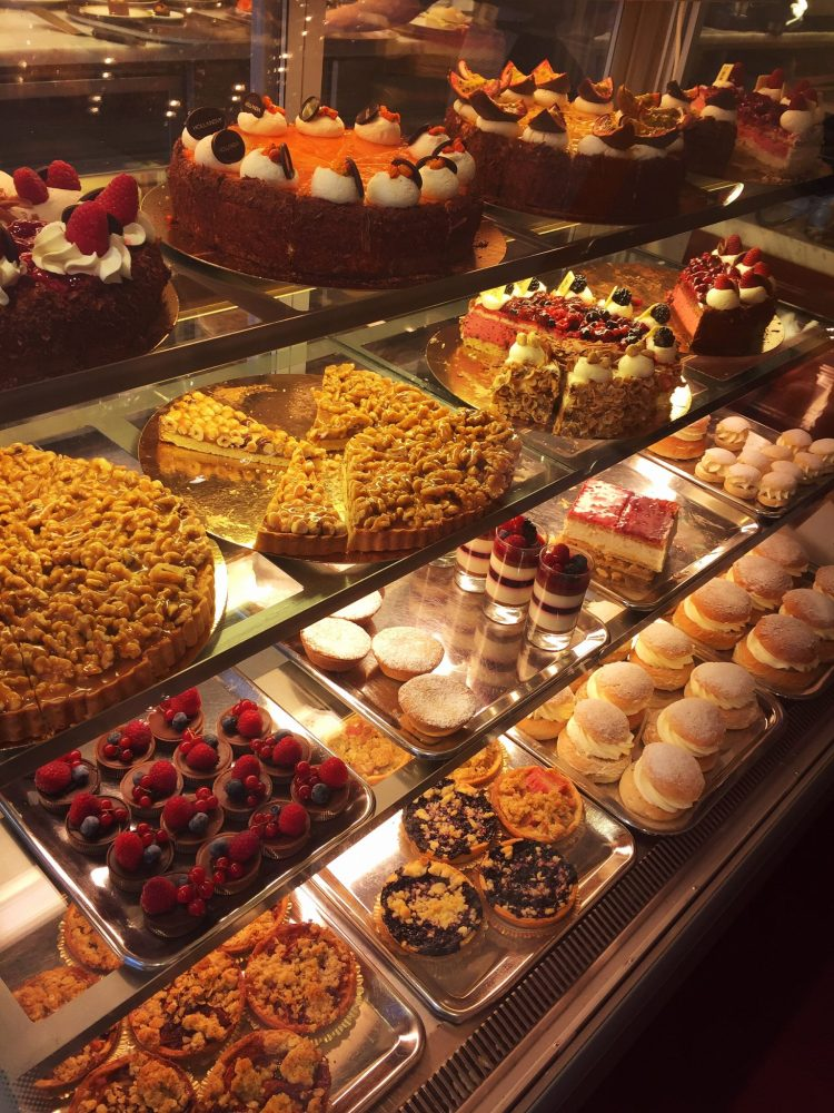 Cakes selection - Things to do in Malmö day trip