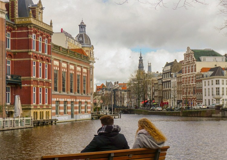 A break to admire the beay - Amsterdam Photo diary