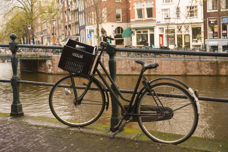 Iconic bike shot - Amsterdam photo diary