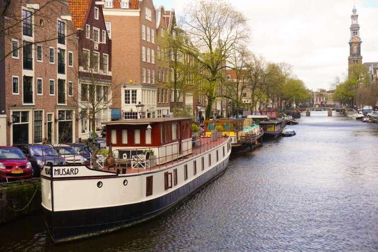 PRINSENGRACHT PRINCE'S CANAL - Amsterdam photo diary