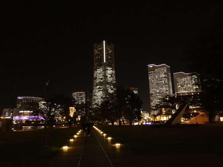 Landmark Tower at night - Things to do in Yokohama