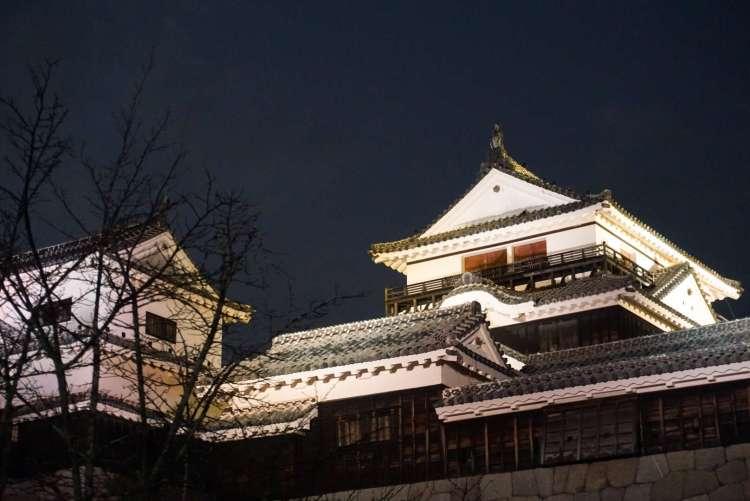 Matsuyama castle in Ehime, Shikoku