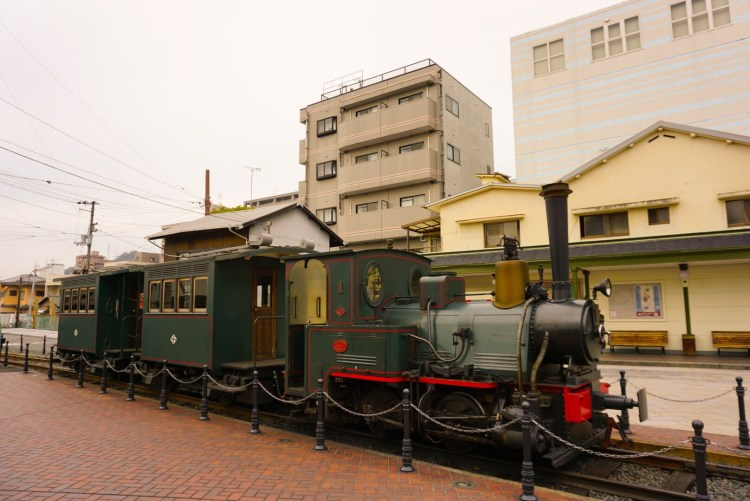 Botchan Train in Matsuyama