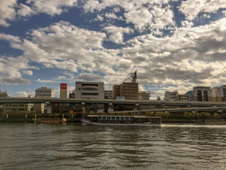Things to do in Asakusa? Take a boat trip along Sumida River