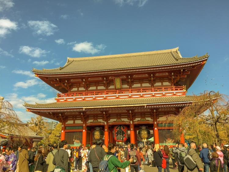 Visit Sensoji Temple