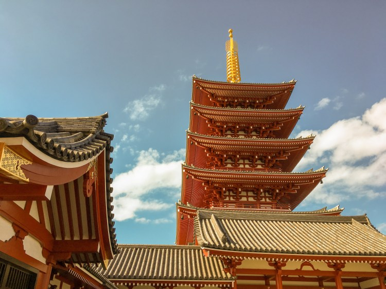 Things to do in Asakusa? The Five-Storied Pagoda of Sensoji