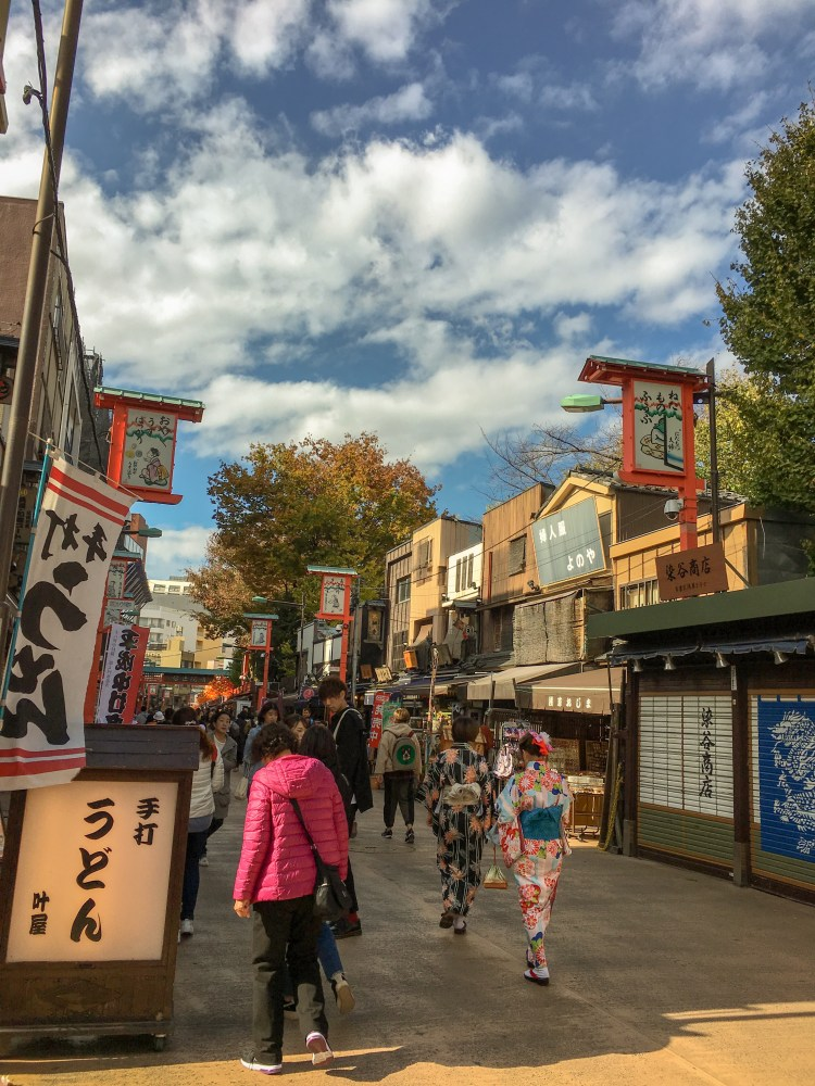 Things to do in Asakusa? Get some drinks and snacks at Hoppy Dori