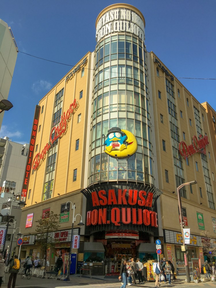 Things to do in Asakusa? Shop at Don. Quijote