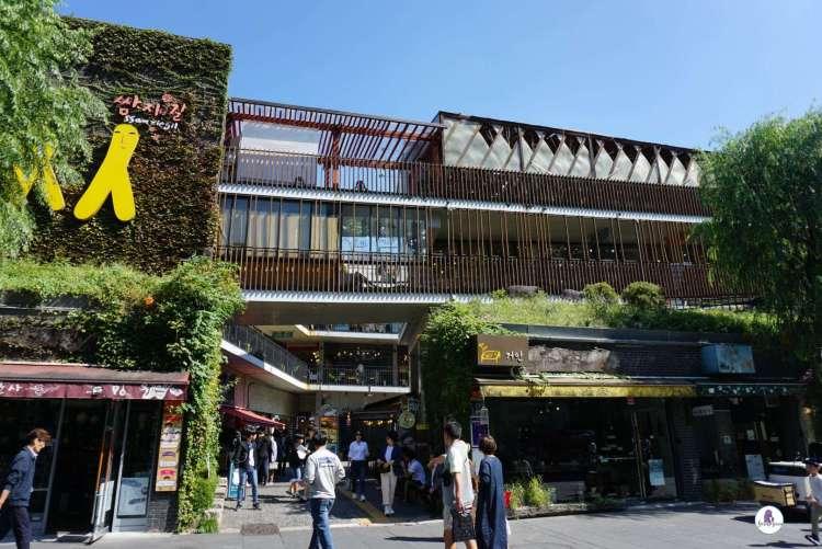 Ssamziegil complex, Insadong Seoul