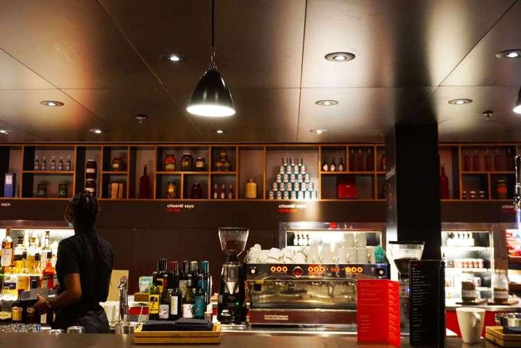 CanteenM bar - CitizenM hotel Glasgow