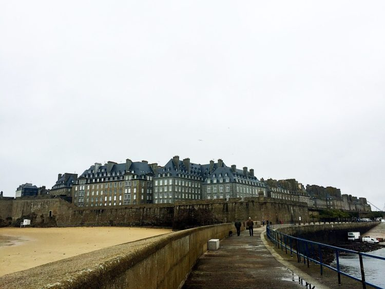 the walled town of St Malo is one of the most charming towns in Brittany