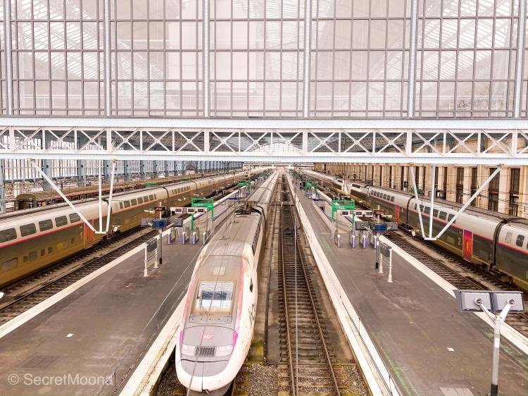 Bordeaux train station: Saint Jean