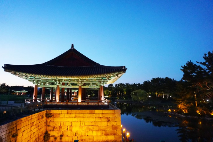 Donggung Palace and Wolji Pond night scene: things to do in Gyeongju