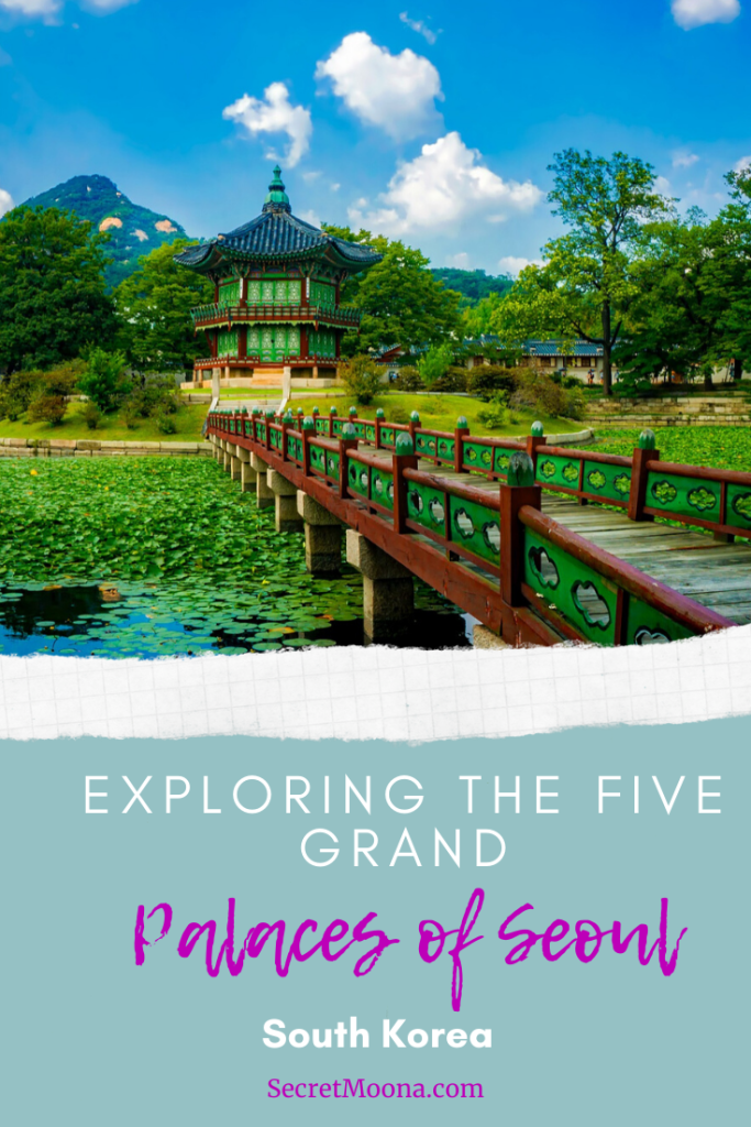 The city of Seoul is a culturally rich city filled with historic buildings and monuments. Among them are the Five Grand Palaces of Seoul, all a must see!