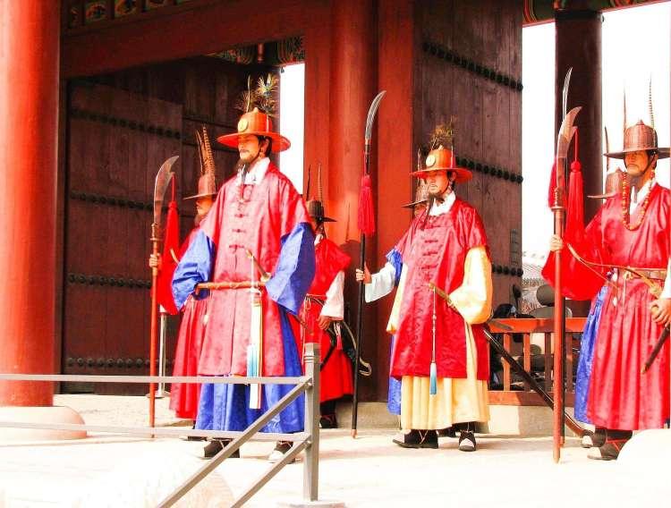 Gyeongbokgung Palace's royal guards