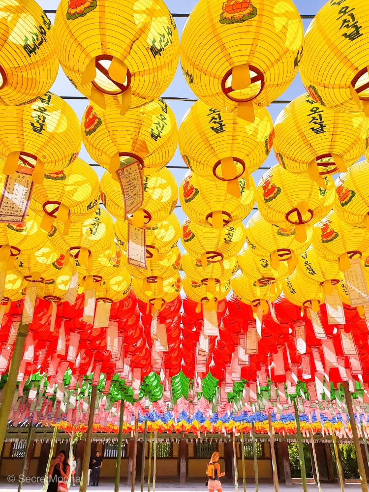 Lanterns in Bulgugsa Temple, Gyeongju - South Korea itinerary
