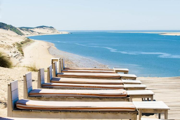 Hotel La Co(o)rniche close to Dune du Pilat