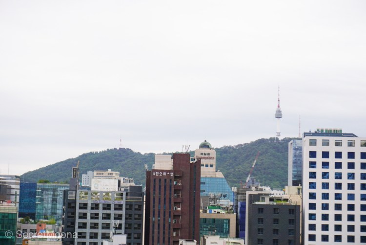 View of Mount Namsan in the background, South Korea Itinerary