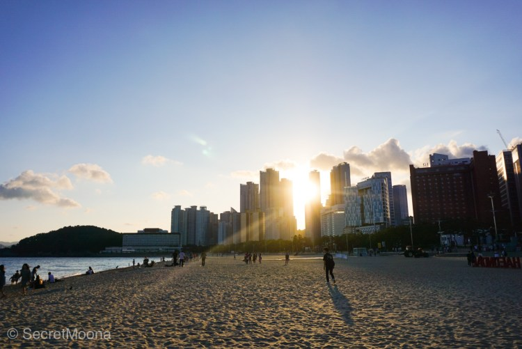Haeundae beach, Busan - South Korea itinerary