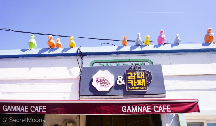 Gamnae Cafe in Gamcheon Culture Village