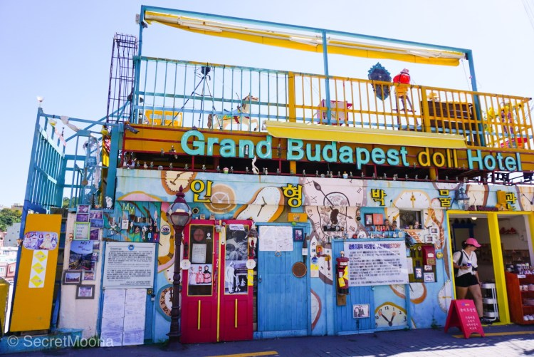 Grand Budapest Doll Hotel, Busan