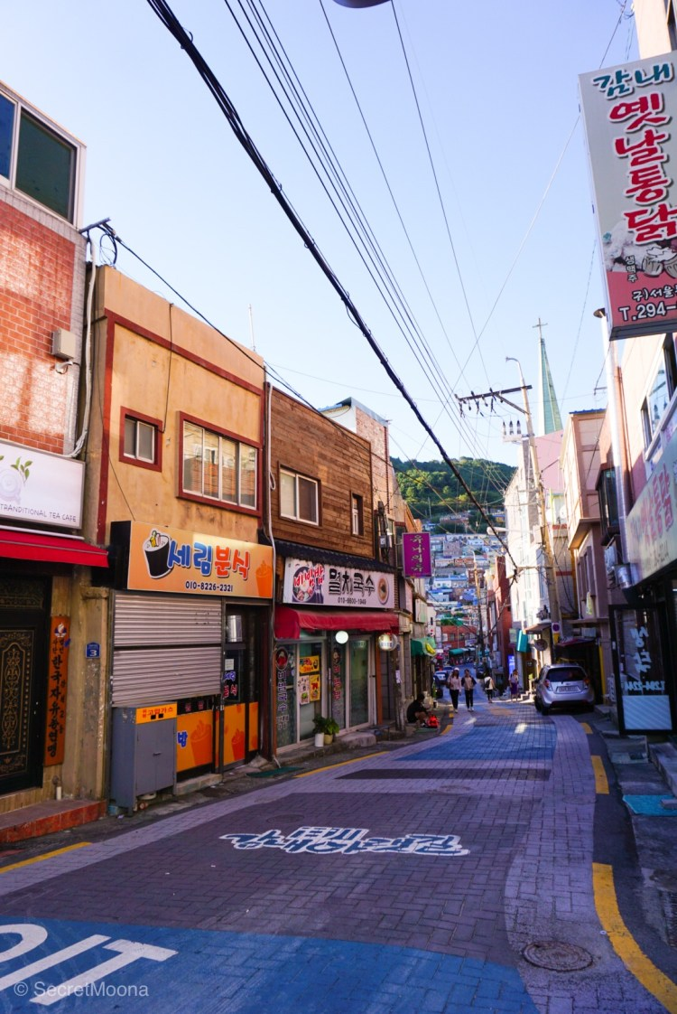 Wandering in the streets of Gamcheon Culture Village