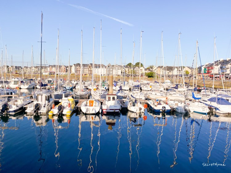 Port du Crouesty in Arzon, Gulf of Morbihan - Brittany