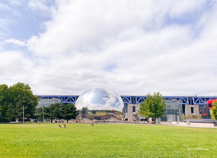 La Geode, Parc de la Villette, Paris 19eme